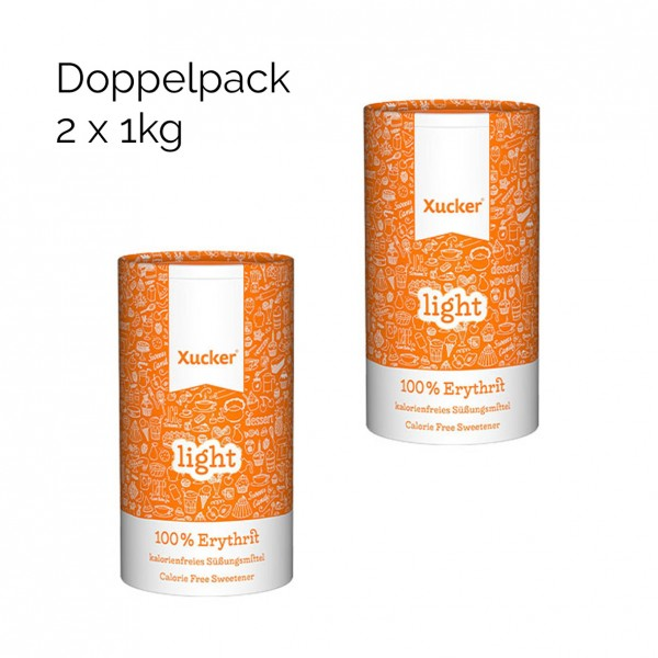 Xucker Erythrit Zuckerersatz doppelpack günstig kaufen