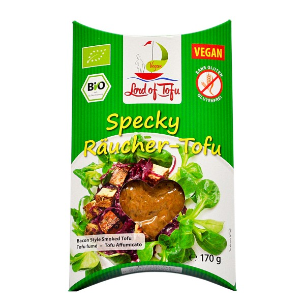 Lord of Tofu SPECKY RÄUCHER TOFU, BIO, 170g