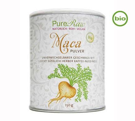 Veganes Macapulvervon PureRaw in Bio Qualität
