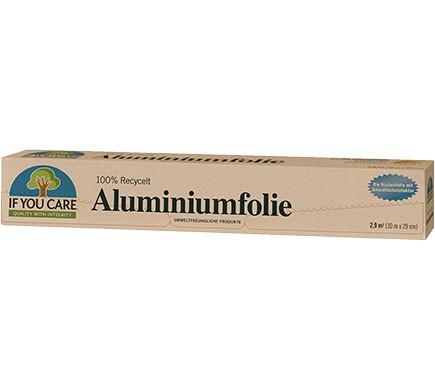 If You Care ALUMINIUMFOLIE 100% Recycelt, 10 Meter