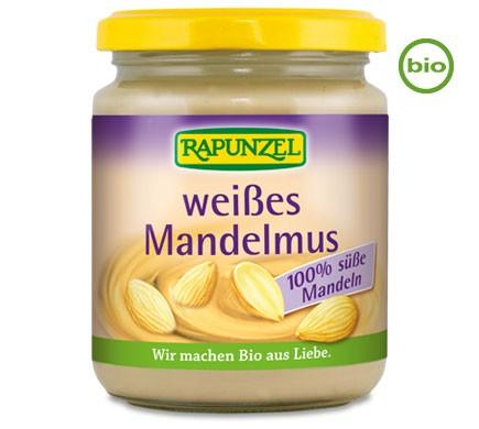 Rapunzel WEISSES MANDELMUS 250g