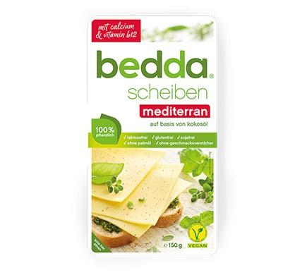 Bedda Käse Scheiben mediterran