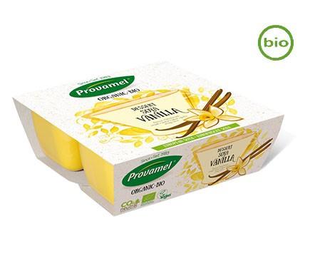 Soja Dessert mit Vanillegeschmack