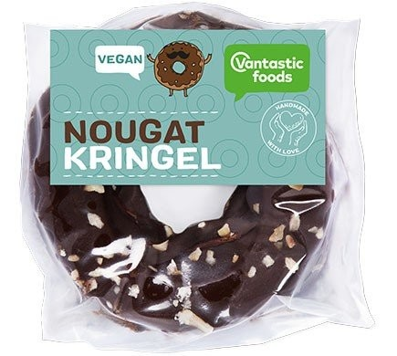 Vantastic foods Nougatkringel, 100g