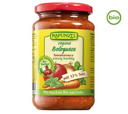 Rapunzel VEGANE BOLOGNESE Tomatensauce, Nudelsauce vegan BIO, 340g