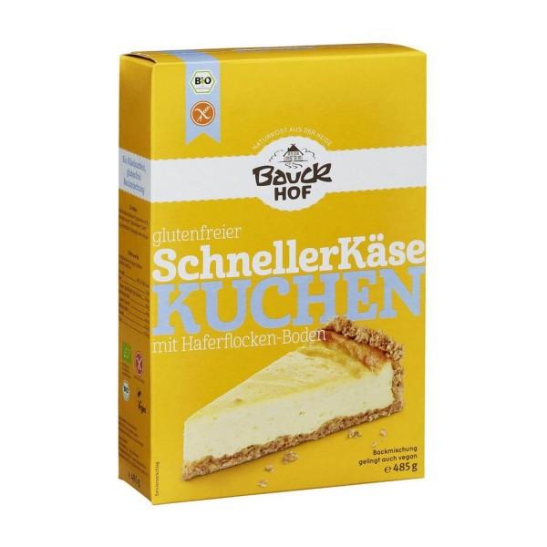 Bauckhof SCHNELLER KÄSEKUCHEN glutenfrei, BIO, 485g