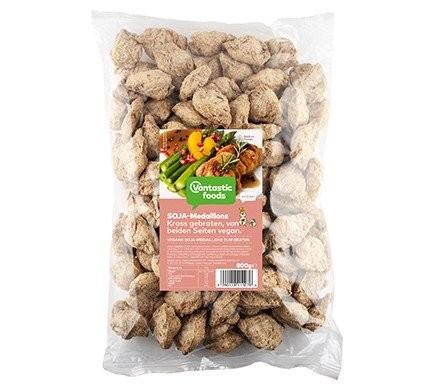 Vantastic foods SOJA MEDAILLONS Familienpackung, 800g