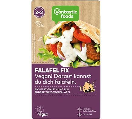 Vegane Falafel Fertigmischung aus Bio Kichererbsen