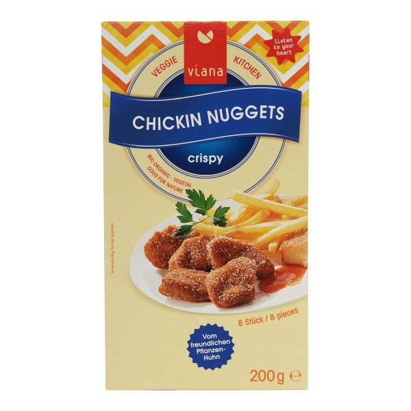Viana CHICKIN NUGGETS, BIO, 200g