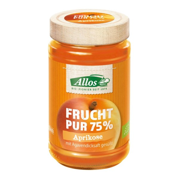 Allos FRUCHT PUR Aprikose, BIO, 250g