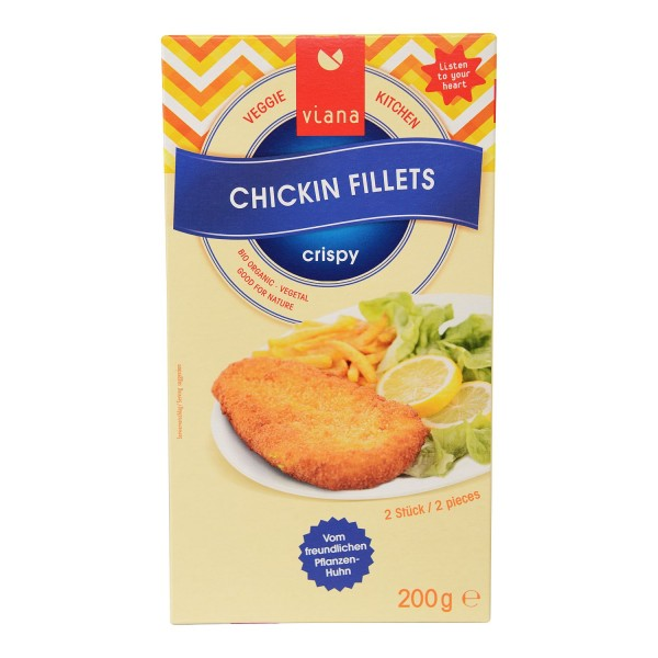 Viana CHICKIN FILETS, BIO, 200g