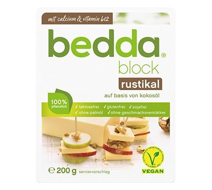 bedda BLOCK Rustikal, 200g
