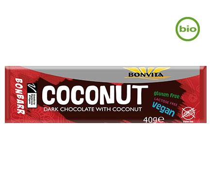 Schokoladen Riegel mit Kokosfüllung von Bonvita