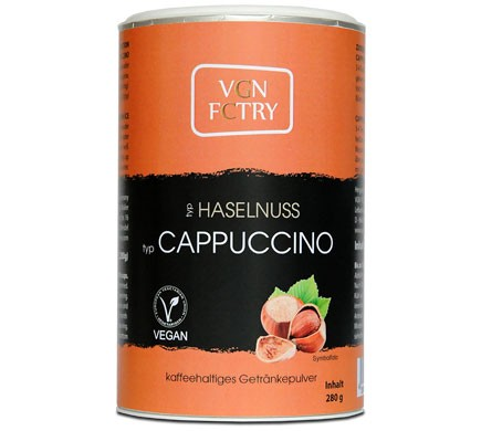VGN FCTRY INSTANT CAPPUCCINO Haselnuss, 280g