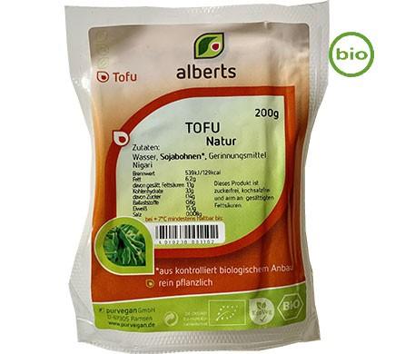 ALBERTS TOFU NATUR, BIO, 200G