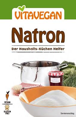 Natron von Vitavegan zum Kochen, Backen und Reinigen