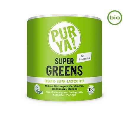 PurYa! SUPER GREENS, BIO, 150g