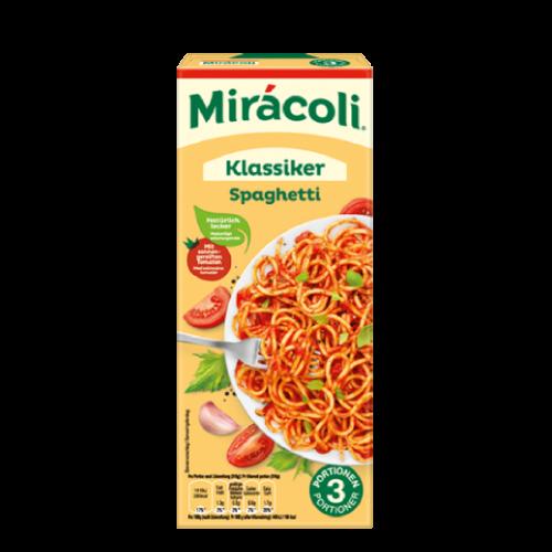 Miracoli Spaghetti mit Tomatensauce Nudeln Pasta Würzmischung 3 Portionen 380 g