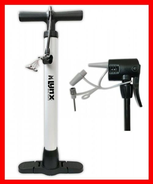 Fahrradpumpe Fahrrad Standpumpe Luftpumpe für alle Ventile mit Adapter