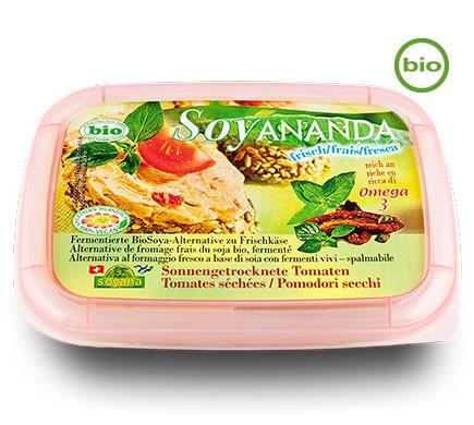 Veganer Frischkäse mit Tomate von Soyana