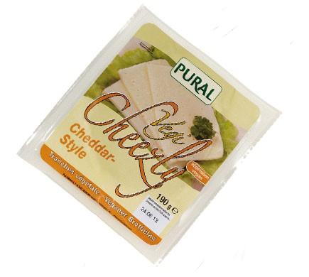 Pural VEGI-CHEEZLY Cheddar Style, 190g