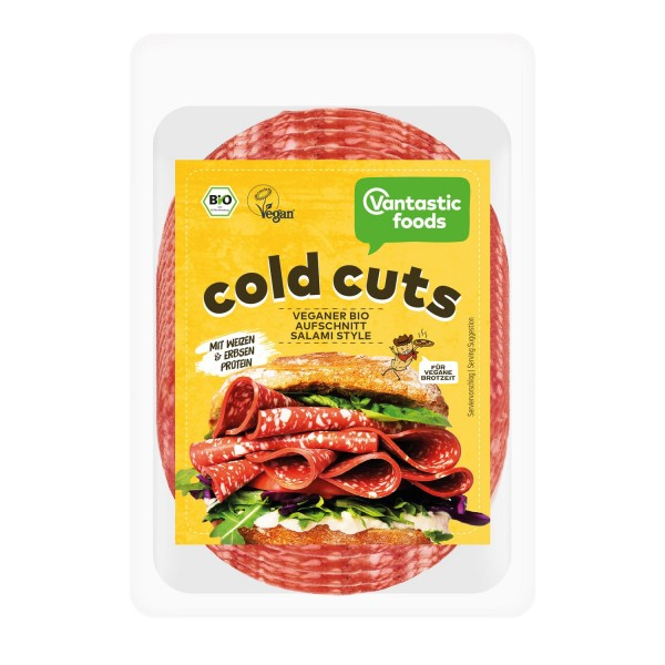 Vantastic foods COLD CUTS Salami Style, BIO, 100g