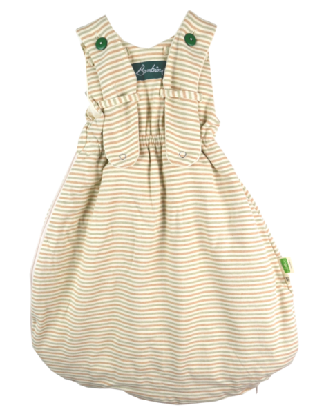Baby Schlafsack aus 100 % BIO Baumwolle 55 70 90 cm Kleinkind Ärmellos Ganzjahr