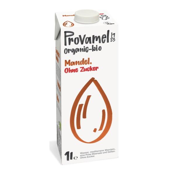 Provamel MANDELDRINK ohne Zucker, BIO, 1l