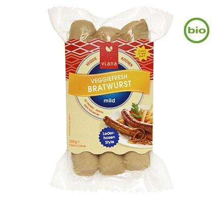 Vegane Bratwurst Alternative aus Tofu