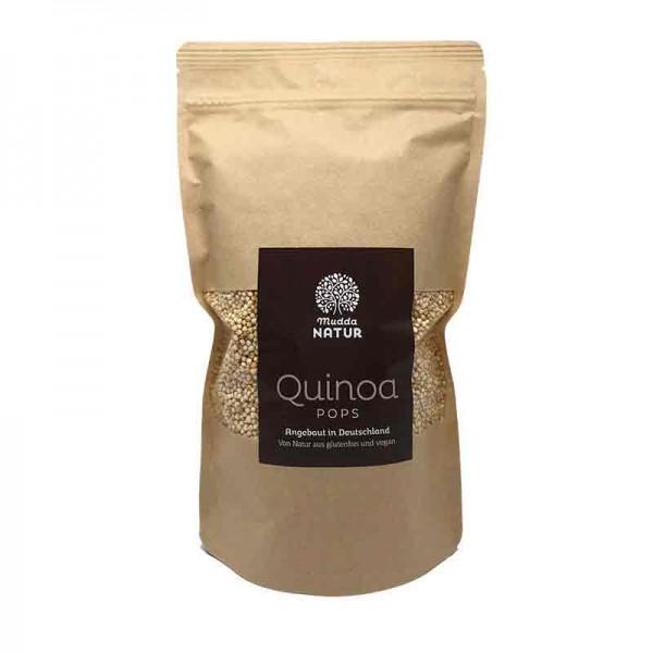 Mudda Natur Quinoa gepufft Pops aus Deutschland - OHNE Saponinen 180g
