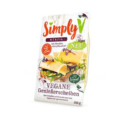 Würzig, kräftige Käse Scheiben von Simply V