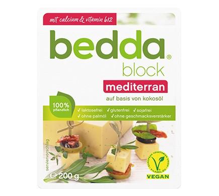 bedda BLOCK Mediterran, 200g