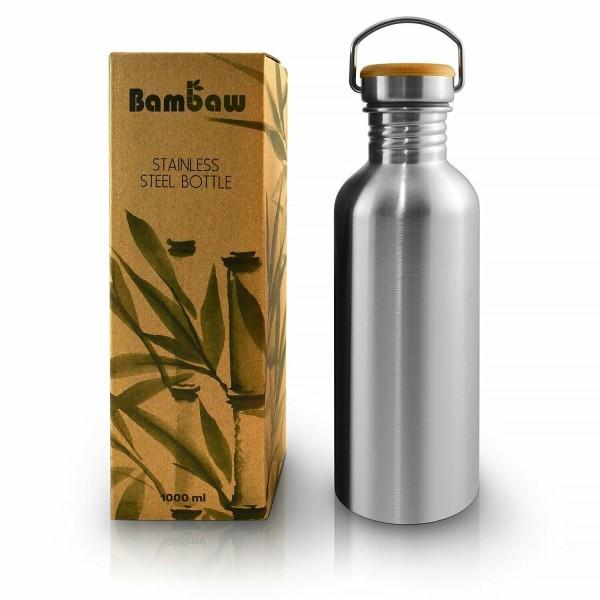 Bambaw Trinkflasche Isoliert 750ml Edelstahl Zerowaste Wasserflasche Plastikfrei