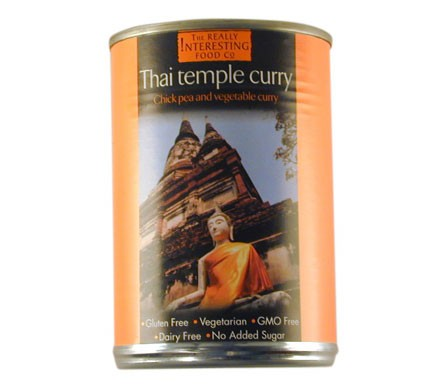 The Really Interesting Food Company THAI TEMPLE CURRY, 400g