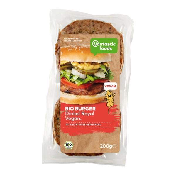 Vantastic foods BIO BURGER Dinkel, 200g