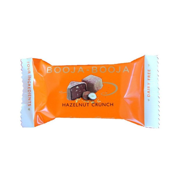 Booja-Booja HASELNUSS CRUNCH Schokoladenkonfekt, BIO, 25g