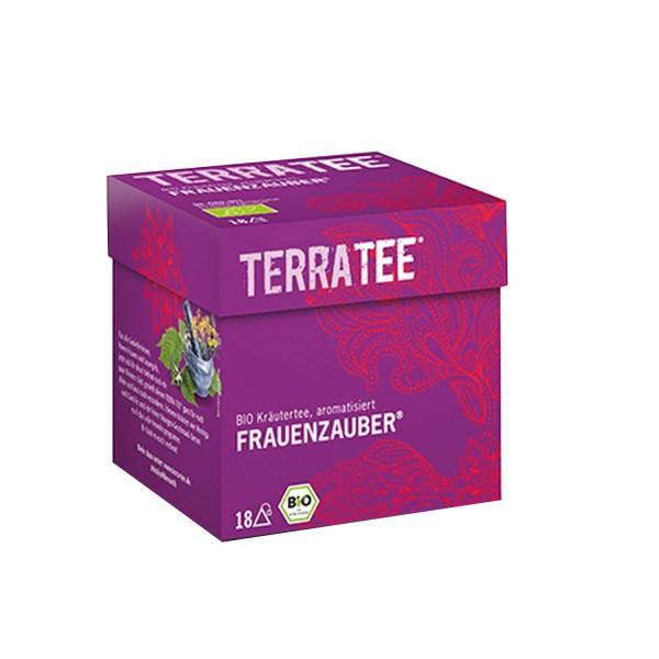 Terra Tee® FRAUENZAUBER Kräutertee, BIO, 36g (18 Beutel)