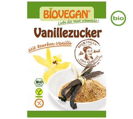 Bio Vanillezucker mit purer Bourbon Vanille von Biovegan