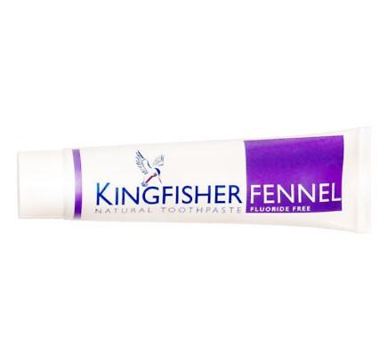 Zahnpasta ohne Fluorid mit Fenchel Geschmack