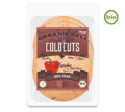 Vantastic foods COLD CUTS Paprika, BIO, 100g