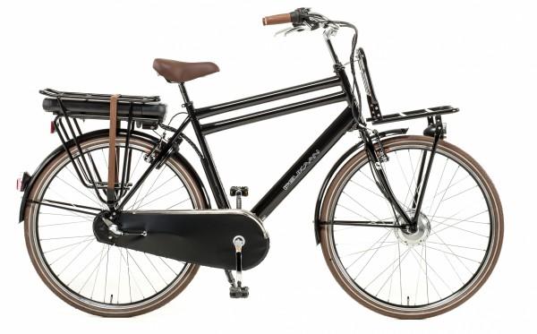 Hollandrad E-Bike Herren 28 Zoll 56 cm Schwarz Elektrofahrrad Ebike E Fahrrad Neu