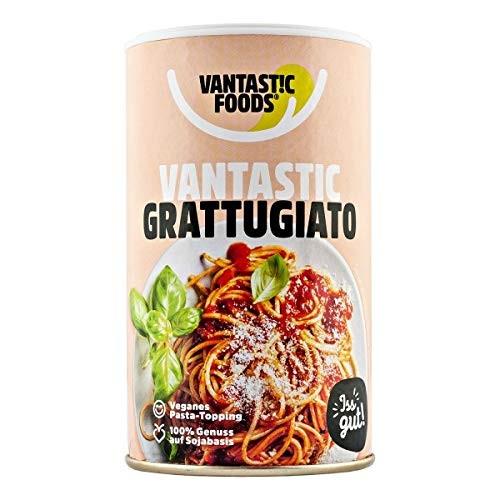 Vantastic foods VANTASTIC GRATTUGIATO, 60g | Veganer Parmesan-Ersatz