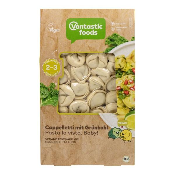 Vantastic foods CAPPELLETTI mit Grünkohl, BIO, 250g