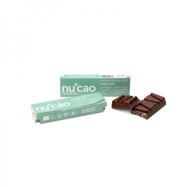 Nu Organics NUCAO Kokos-Zimt, BIO, 40g