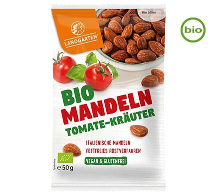 Landgarten MANDELN Tomate-Kräuter, BIO, 50g