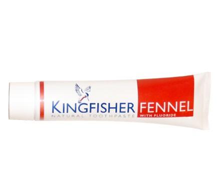 Vegane Zahnpasta mit Fenchel und Fluorid