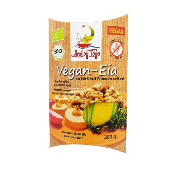 Lord of Tofu VEGAN-EIA für veganes Rühreia, BIO, 200g